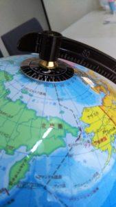 地球儀_文字盤