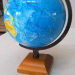 ◆ツール:地球儀を購入。←緯度と経度の対策に(>_<)